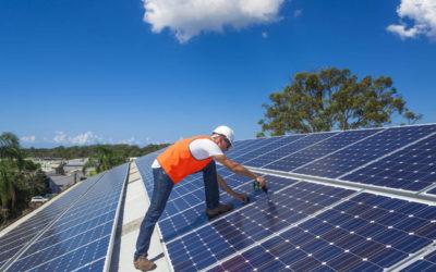 Mekanisk lagring av solenergi